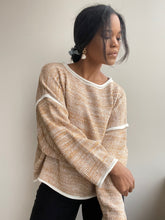 Load image into Gallery viewer, Daytona Slouch Knit Pullover In Rust