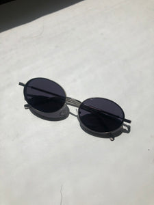 Kaitlin 90s Sunglasses In Silver