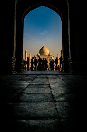 A different view of The Taj Mahal