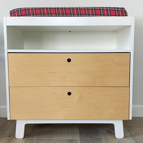 Changing table in baby nursery