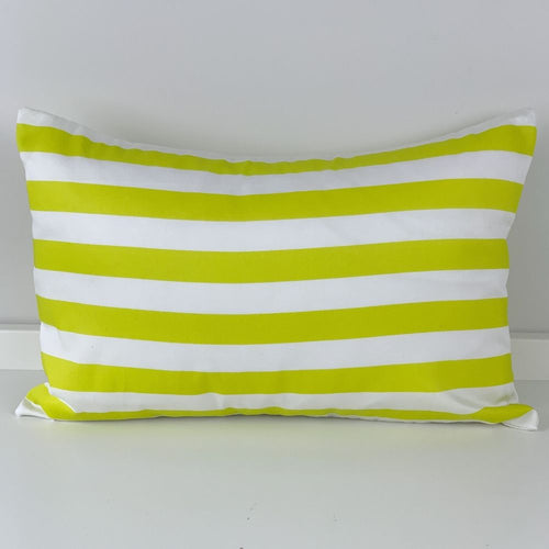 Citrus Stripe Pillow