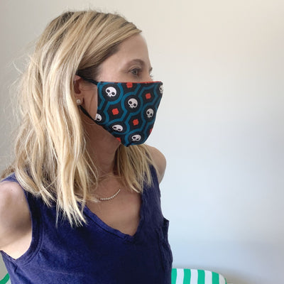 Luxe Face Mask 2.0 - Skulls