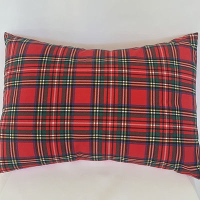 Pink Bunnies & Tartan Pillow