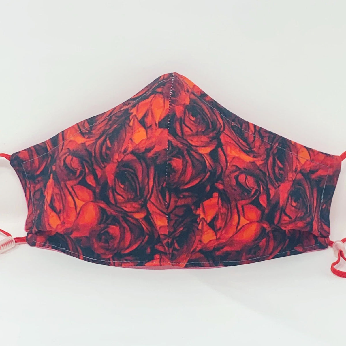 Luxe Face Mask 2.0 - Red Roses