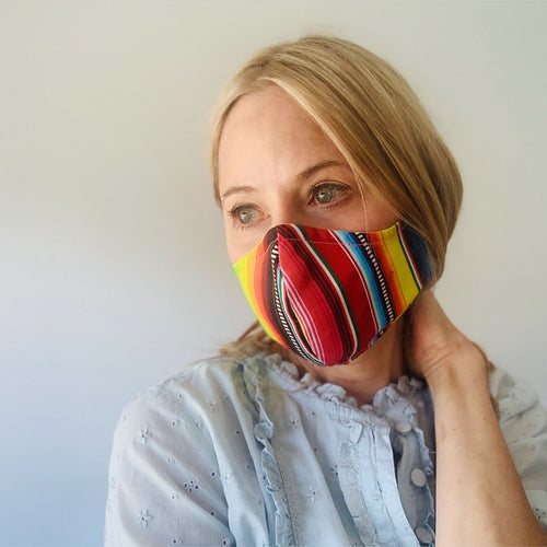 Luxe Face Mask 2.0 - Serape