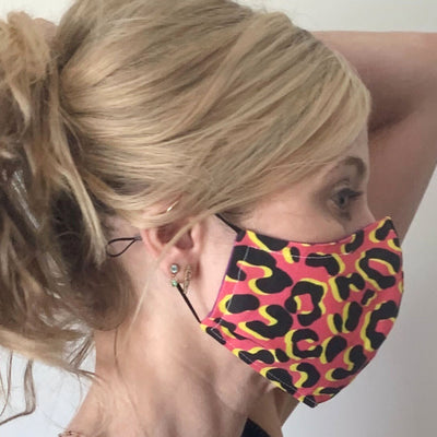 Luxe Face Mask 2.0 - Leopard