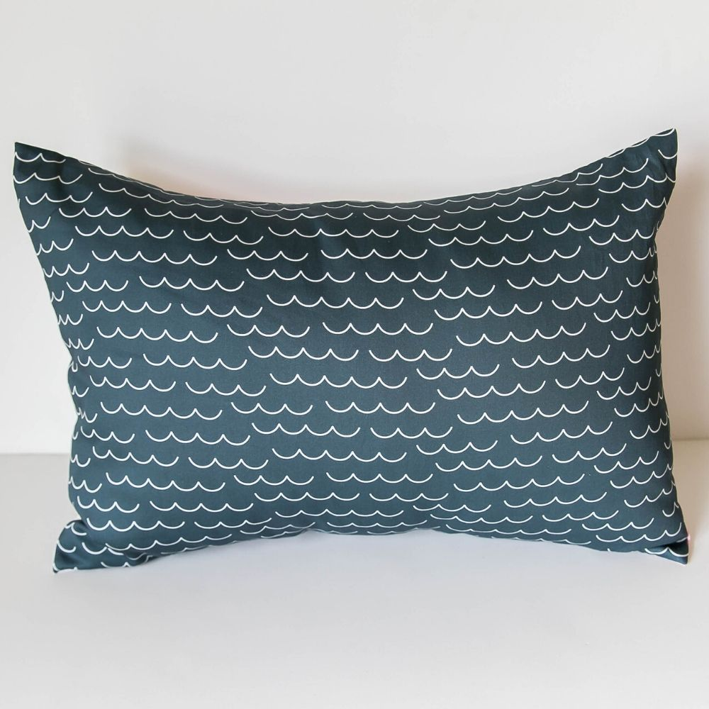 Whales & Waves Pillow