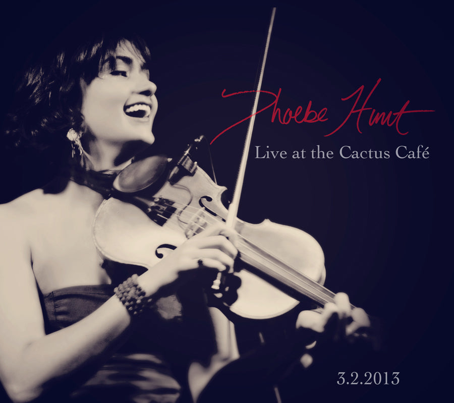 Live At The Cactus Cafe CD (Physical/Digital)