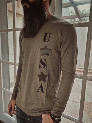 USA Long Sleeve For Him