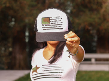 Freedom Trucker Hat - Civvies Apparel Co