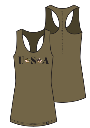 USA Tank For Her