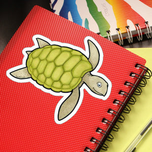 Sea Turtle Large Outdoor Sticker
