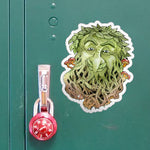 Greenman large outdoor Sticker