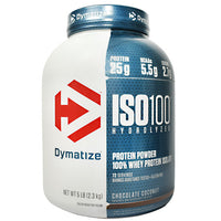 Dymatize ISO100 - Chocolate Coconut - 5 lb - 705016355532