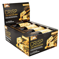 MusclePharm Combat Series Crisp Protein Bar - Peanut Butter - 12 Bars - 851387008833
