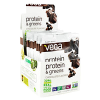 Vega Protein & Greens - Chocolate - 12 ea - 838766006598