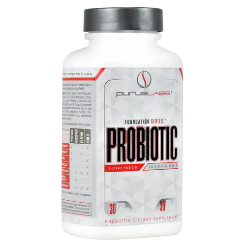 Purus Labs Foundation Series Probiotic - 30 Capsules - 855734002956