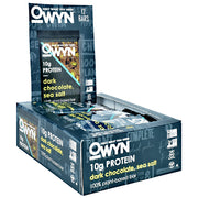 Only What You Need OWYN Bar - Dark Chocolate Sea Salt - 12 Bars - 857335004919