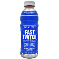 Cytosport Fast Twitch - Blue Raspberry - 12 Bottles - 00876063816250