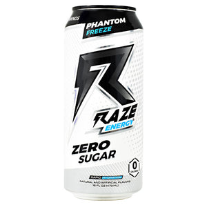 Repp Sports Raze Energy - Phantom Freeze - 12 Cans - 854531008390