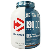 Dymatize ISO100 - Fudge Brownie - 5 lb - 705016500406