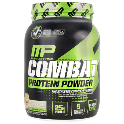 MusclePharm Sport Series Combat  Protein Powder - Cookies N Cream - 2 lb - 736211050670