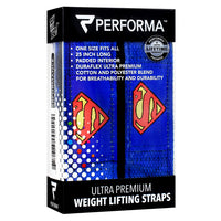 Perfectshaker Weight Lifting Straps - Superman - 1 Pair - 672683002222