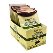 Think Products Plant Protein & Probiotics - Belgian Chocolate - 10 ea - 753656713625
