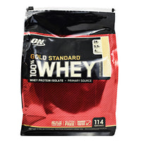 Optimum Nutrition Gold Standard 100% Whey - Vanilla Ice Cream - 114 Servings - 748927057065