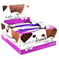 Power Crunch Power Crunch - Triple Chocolate - 12 Bars - 644225722837