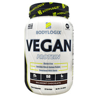 BodyLogix Vegan Protein - Decadent Chocolate - 2 lbs - 694422032024