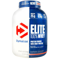 Dymatize Elite 100% Whey - Raspberry Cheesecake - 5 lb - 705016560233