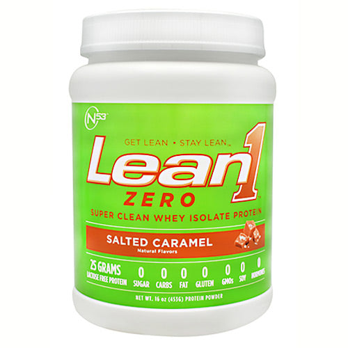 Nutrition 53 Zero Lean1 Zero - Salted Caramel - 15 Servings - 810033012914