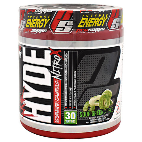 Pro Supps Mr. Hyde Nitro X - Sour Green Apple - 30 Servings - 818253021747