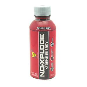 BSN N.O. XPLODE RTD - Fruit Punch - 16 fl oz - 00834266103621