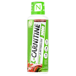 Nutrakey L-Carnitine 3000 - Delicious Watermelon - 16 fl oz - 851090006324
