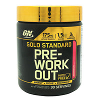 Optimum Nutrition Gold Standard Pre-Workout - Watermelon - 30 Servings - 748927052756