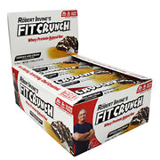 Fit Crunch Bars Fit Crunch Bar - Cookies & Cream - 12 Bars - 839138002637