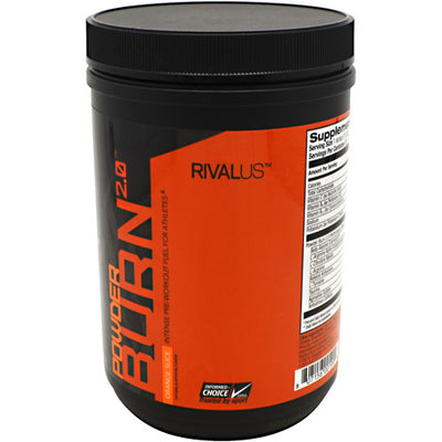 Rivalus Rivalus Powder Burn 2.0 - Orange Slice - 0.89 lbs - 807156001994