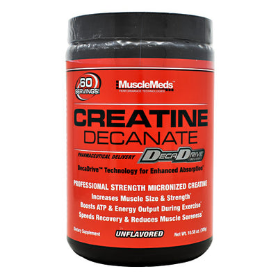 Muscle Meds Creatine Decanate - Unflavored - 60 Servings - 891597002603