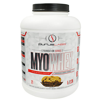 Purus Labs Foundation Series MyoWhey - Chocolate Cookie Crunch - 5 lb - 855734002857