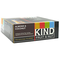 Kind Snacks Kind Fruit & Nut - Almond & Coconut - 12 Bars - 602652171284