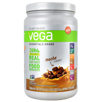 Vega Essentials Shake - Mocha - 18 Servings - 838766011134