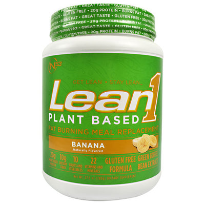 Nutrition 53 Plant Based Lean1 - Banana - 15 Servings - 810033013058