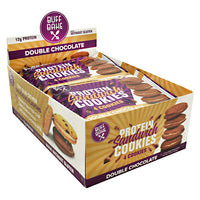 Buff Bake Protein Sandwich Cookies - Double Chocolate - 8 ea - 854570007347