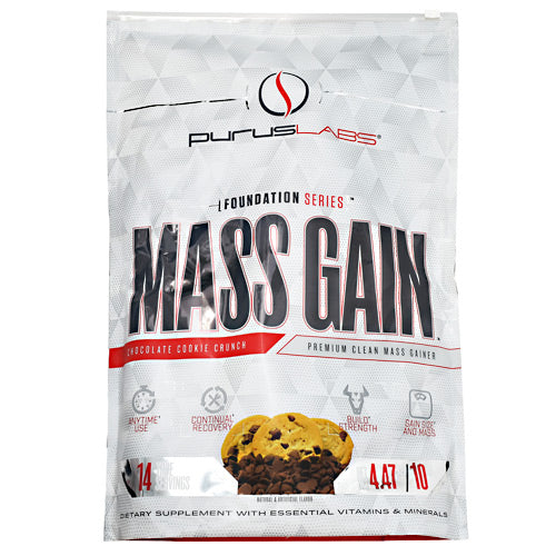 Purus Labs Foundation Series Mass Gain - Chocolate Cookie Crunch - 14 Servings - 855734002895