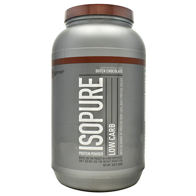 Natures Best Low Carb Isopure - Dutch Chocolate - 3 lb - 089094021177