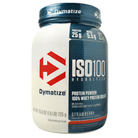 Dymatize ISO100 - Strawberry - 1.6 lb - 705016353019