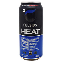 Celsius Celsius Heat - Blueberry Pomegranate - 12 Cans - 852480007051