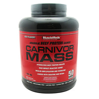 Muscle Meds Carnivor Mass - Strawberry - 5.6 lb - 891597004058